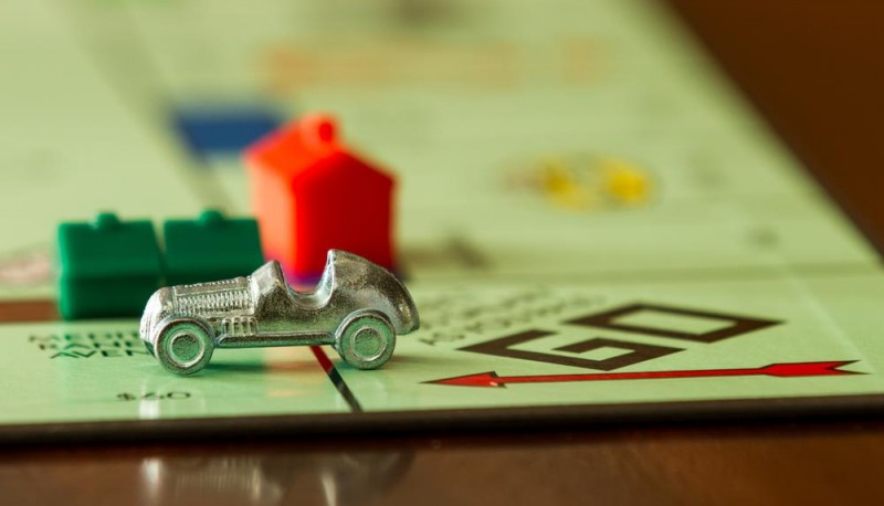 How would a British Monopoly board look like with today's house prices?